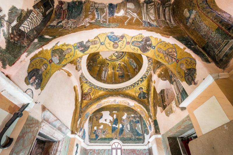 nea moni chios kloster wandmosaiken