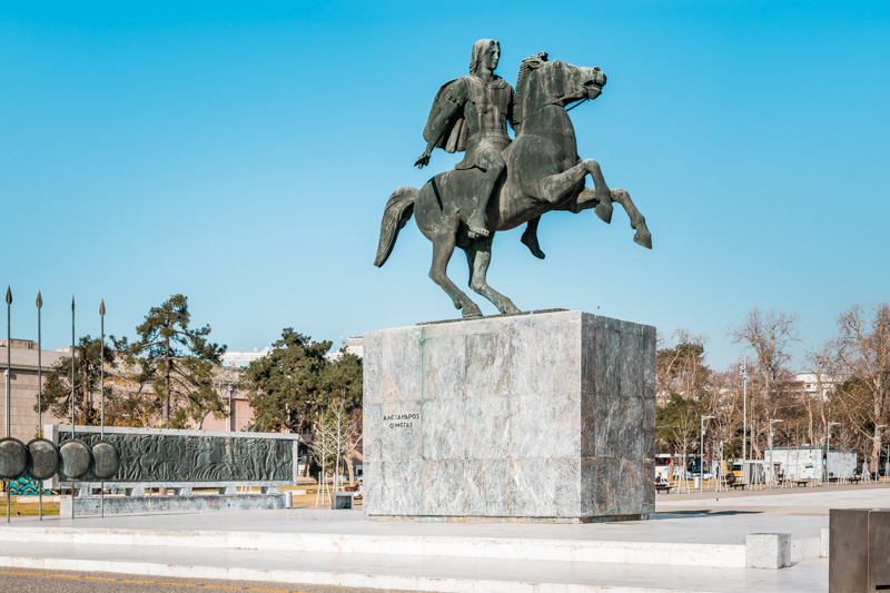 alexander der große makedonien thessaloniki