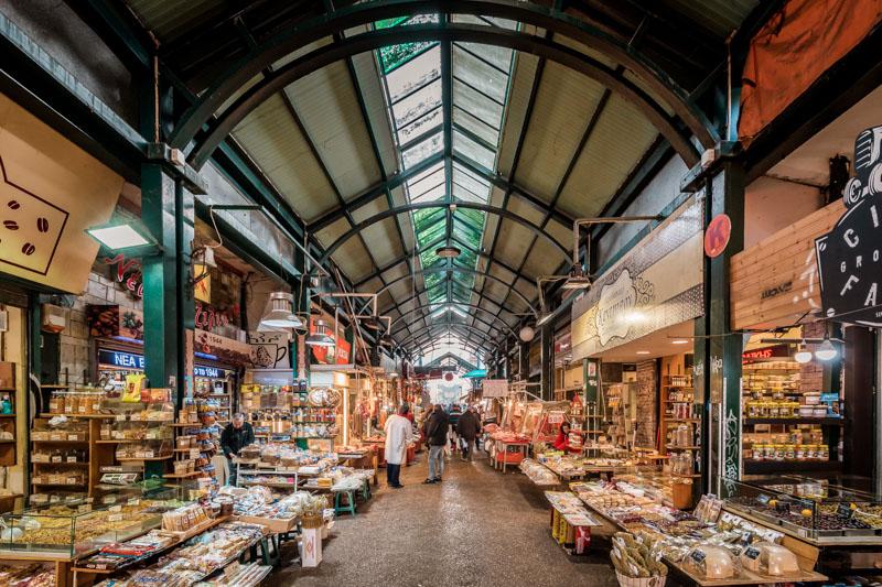 thessaloniki kapani markt