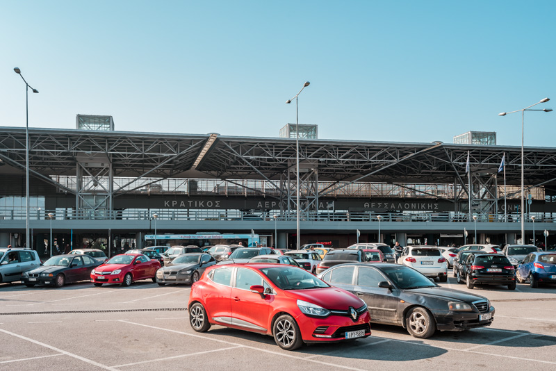 thessaloniki makedonia airport flughafen