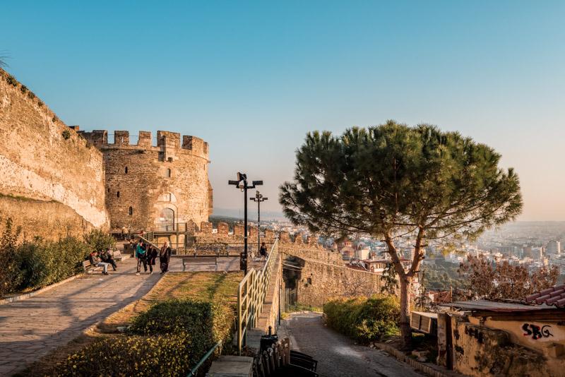 thessaloniki trigonion chain tower wehrturm