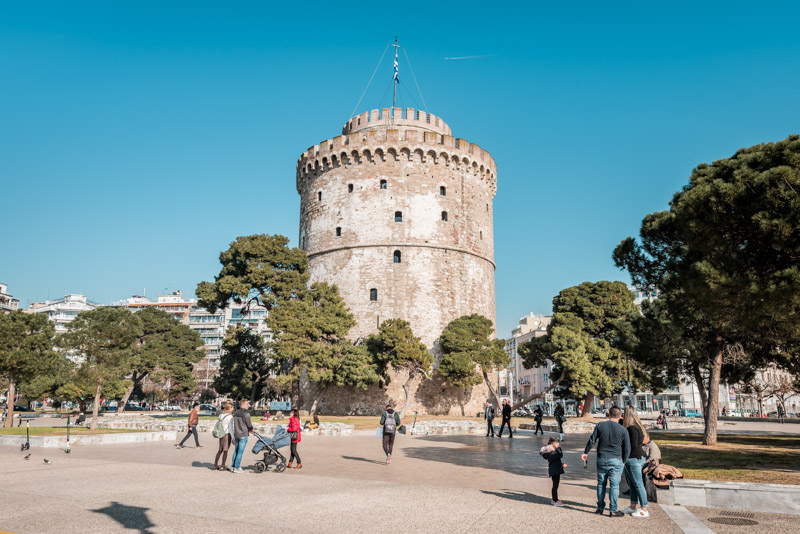 thessaloniki weißer turm white tower
