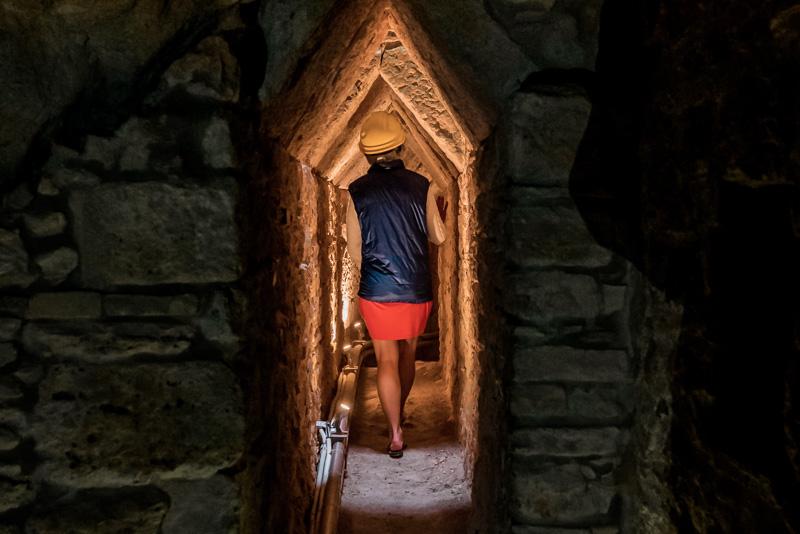 Samos Sehenswürdigkeiten Eupalinos Tunnel Weltwunderjpg