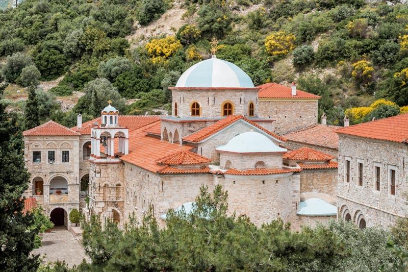 Timiou Stavrou Kloster Samos Highlights