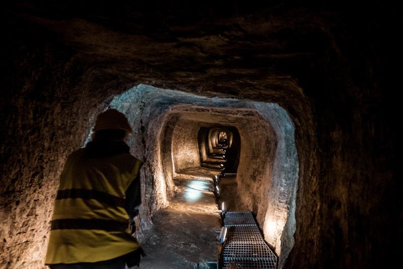 eupalinos tunnel samos tour