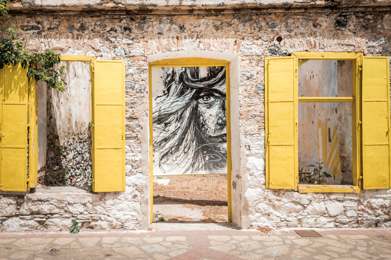 limena karlovasi samos hafen street art graffiti