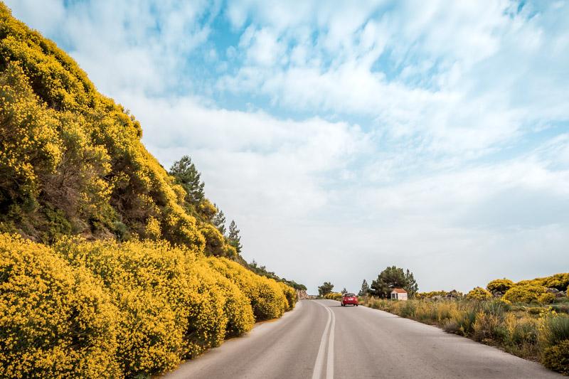 samos roadtrip frühling griechenland