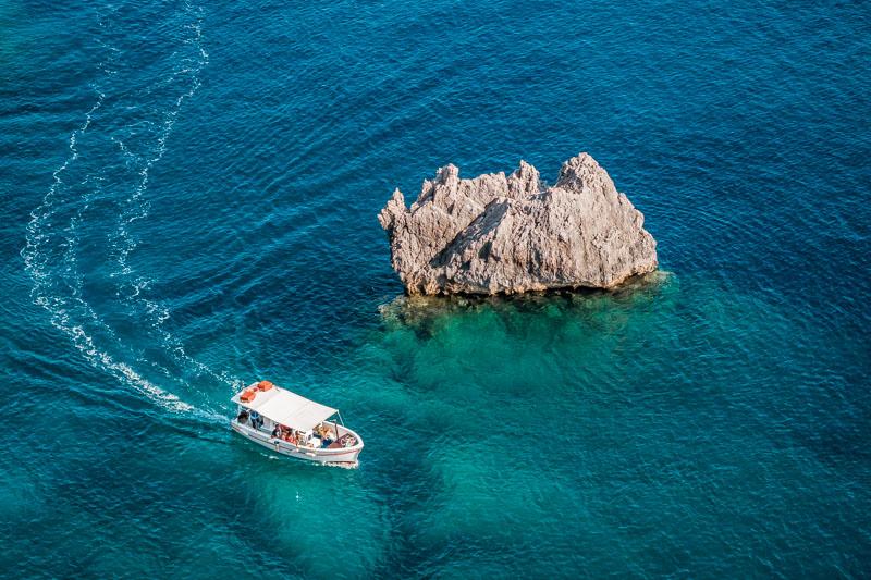 Paleokastritsa Korfu Bootstour Tagesausflug