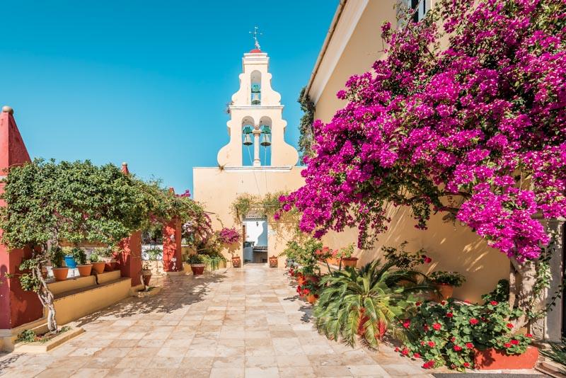 kloster paleokastritsa korfu