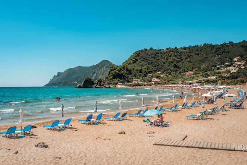 korfu straende konotgialos beach
