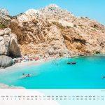 Kalender Griechenland zum Ausdrucken PDF