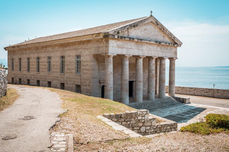 Agios Georgios Kirche Korfu Tempel
