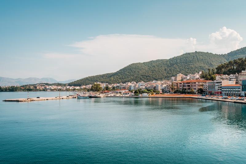 Anreise Korfu Faehre Igoumenitsa Hafen