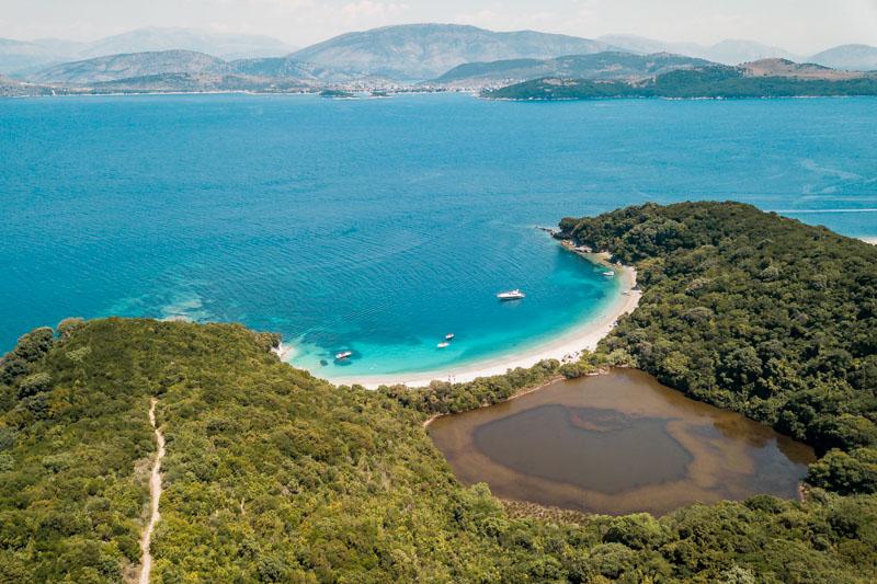 Griechenland Urlaub Insel Korfu Erimitis