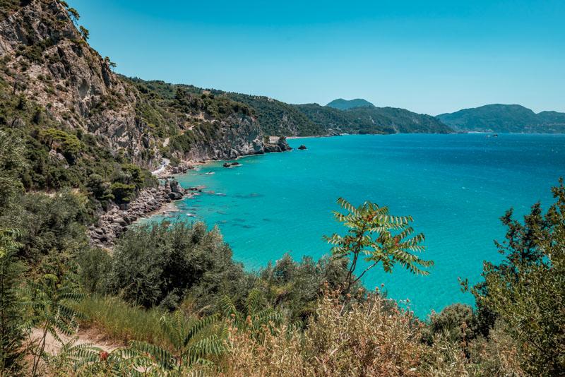 Griechenland Urlaub Insel Korfu Mirtiotissa