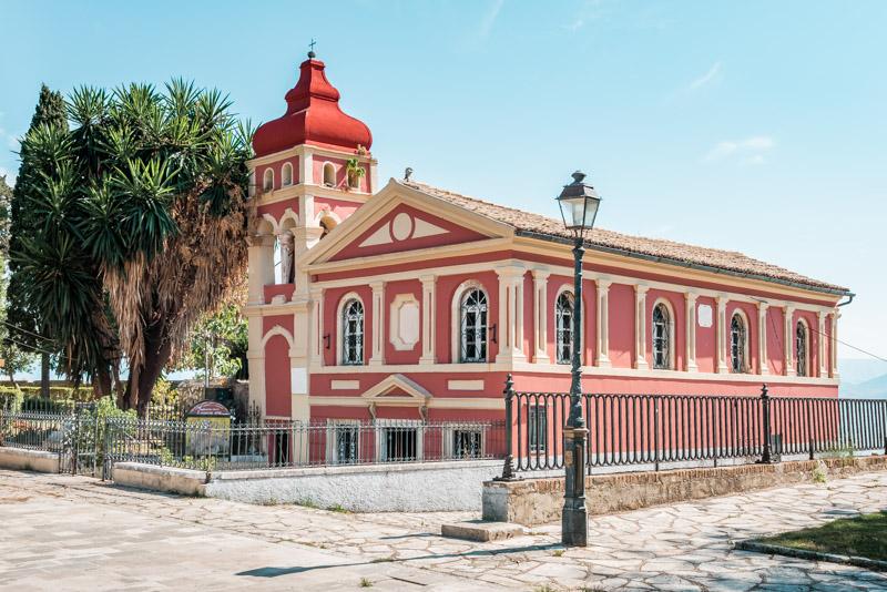 Insel Korfu Stadt Tipps Marienkirche Mandrakinas