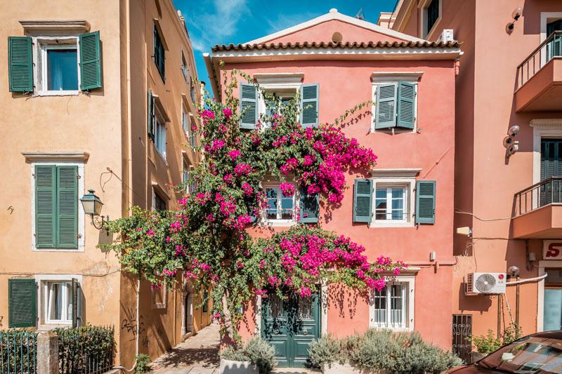 Korfu Altstadt Empfehlung Reisetipps Tagesausflug
