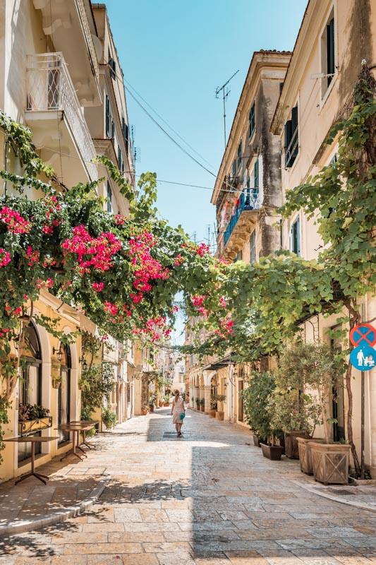 Korfu Altstadt Stadtrundgang Tipps