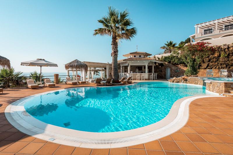 Korfu Hotel Empfehlung Familienurlaub Delfino Blu