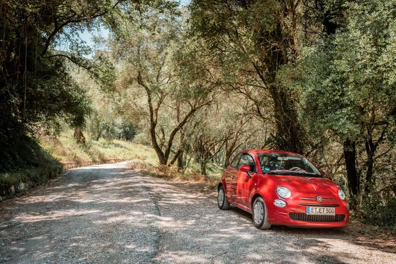 Korfu Mietwagen Anbieter Empfehlung Urlaub Rundreise