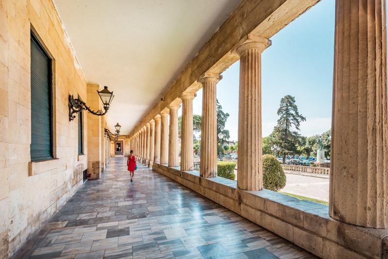 Korfu Museum Asiatische Kunst Palast