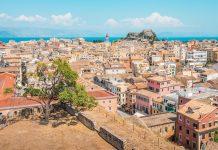 Korfu Stadt Sehenswuerdigkeiten Altstadt Highlights