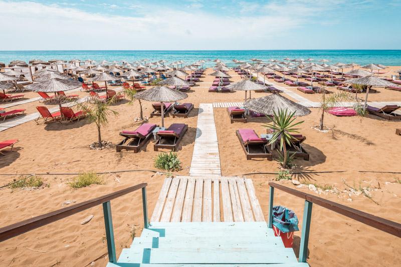 Korfu schoene Straende Tipps Santa Barbara Beach