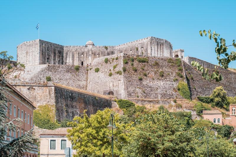 New Venetian Fortress Corfu Town