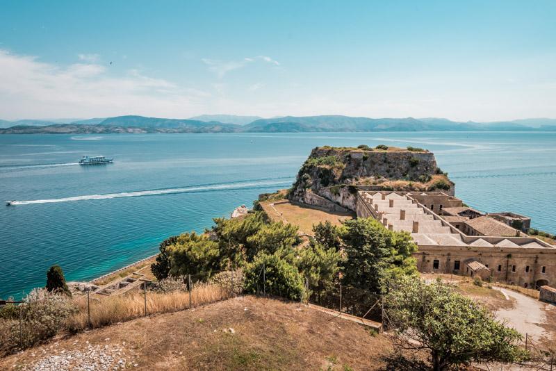 Old Venetian Fortress Corfu Island