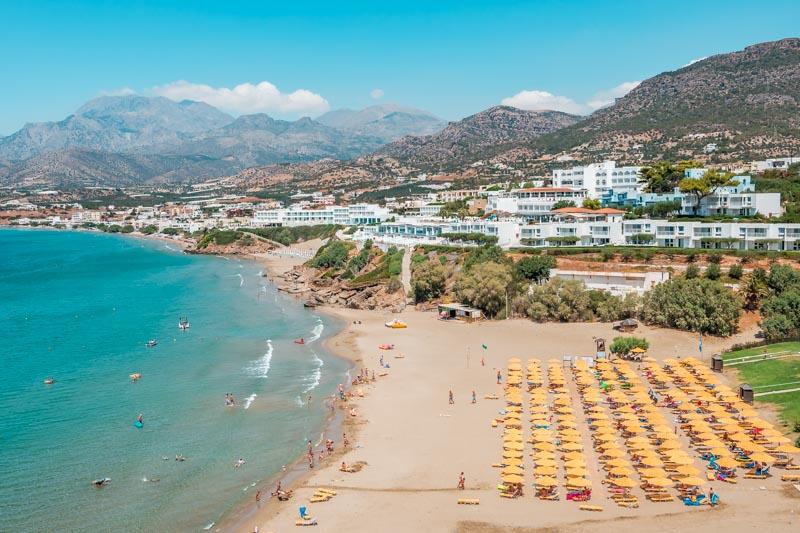 Kreta Hotels am Meer Empfehlungen Sueden