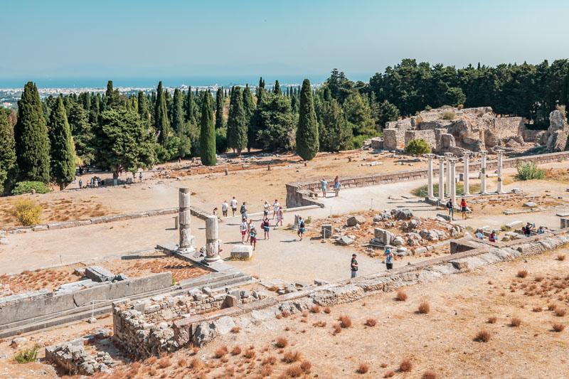 Asklepieion von Kos Tipps Erfahrung Griechenland Sehenswuerdigkeiten