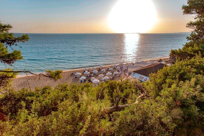 Kefalonia Straende Makris Gialos Beach Lassi