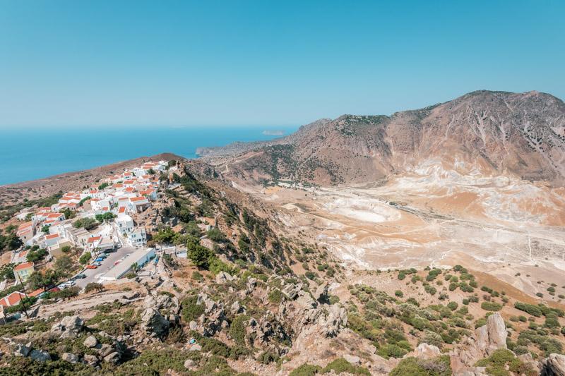 Nisyros Vulkan Kos Sehenswuerdigkeiten Dodekanes