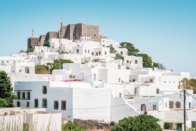 Patmos Kloster Johannes Dodekanes Inseln Sehenswuerdigkeiten