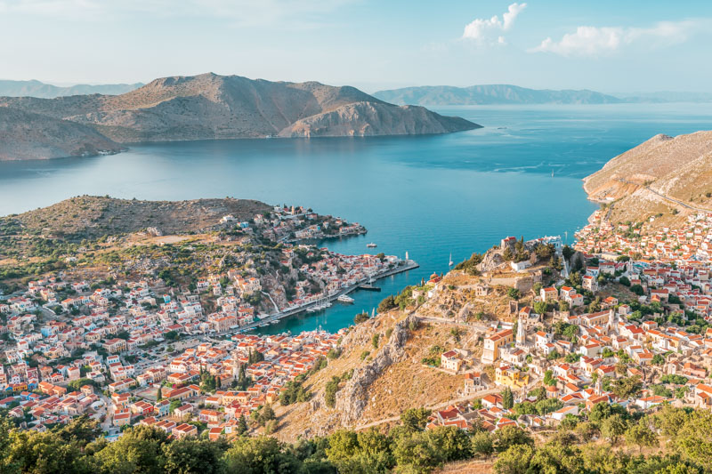 Symi Rhodos Dodekanes Inseln Griechenland