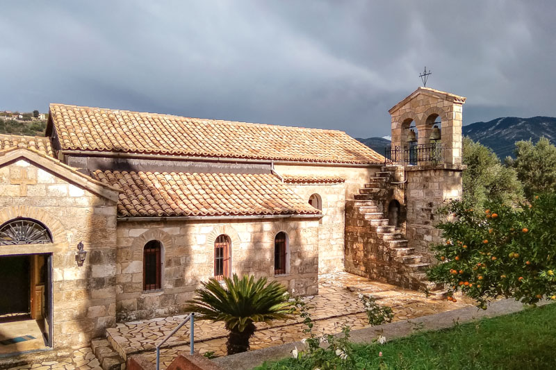 kloster agios andreas kefalonia