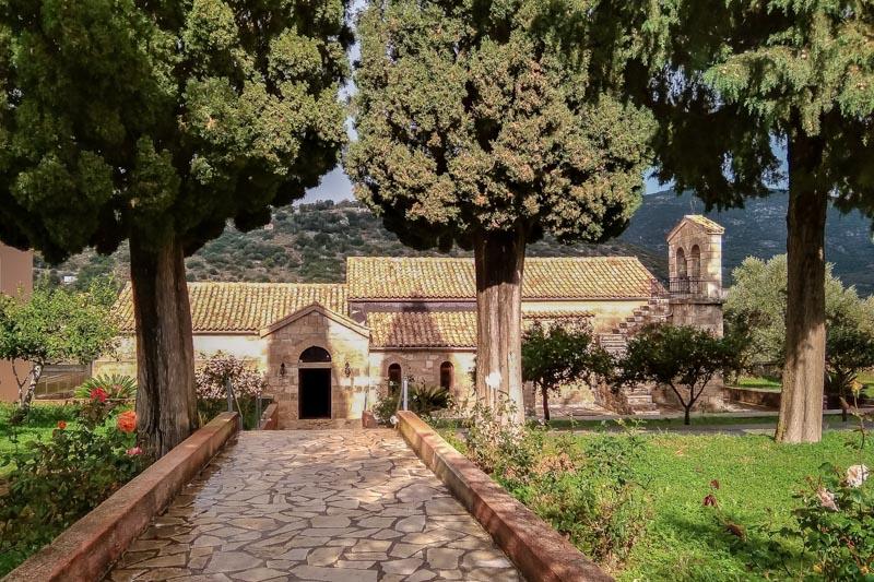 kloster agios andreas kirche kefalonia