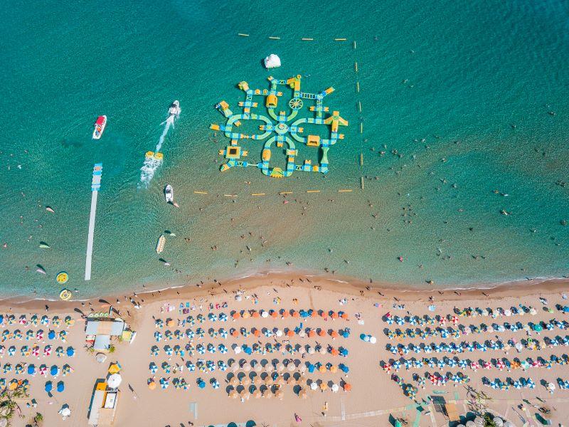 rhodos straende tsambika beach