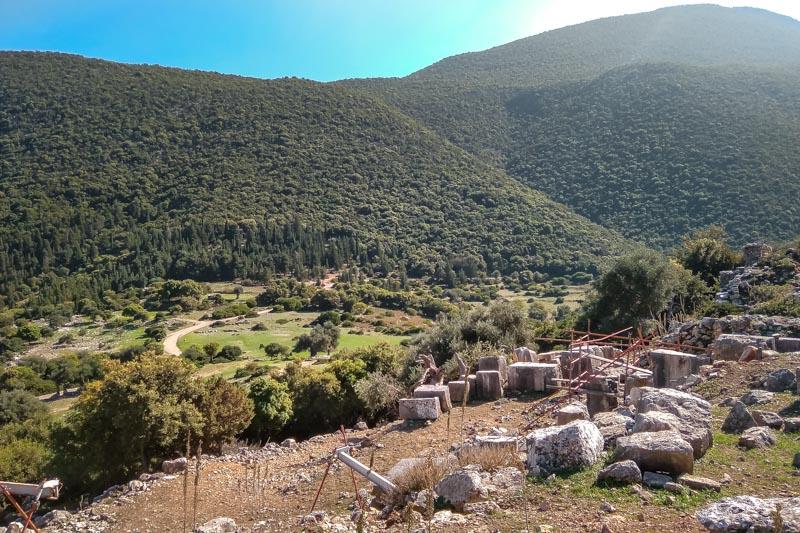 sami akropolis kefalonia