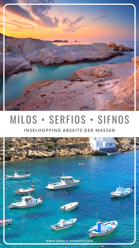 Kykladen Inselhopping Milos Serifos Sifnos Griechenland Urlaub