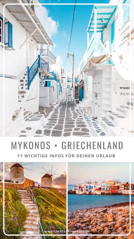 Mykonos urlaub griechenland Tipps