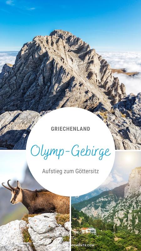 Olymp Wandern in Griechenland Tipps