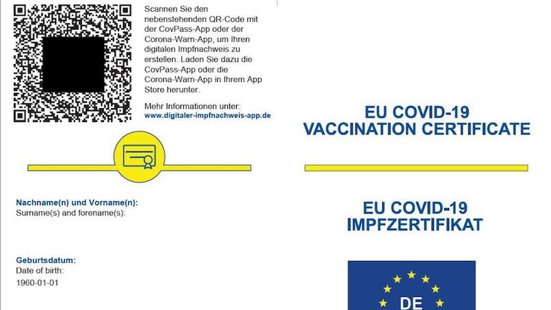 Griechenland Corona Urlaub Impfzertifikat Digitaler Corona Pass