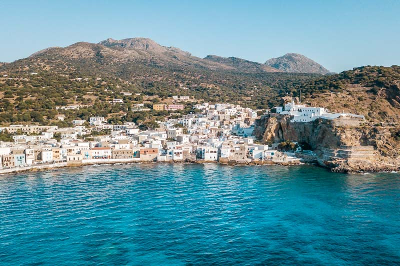 Nisyros Griechenland Mandraki Dodekanes Inseln Urlaub