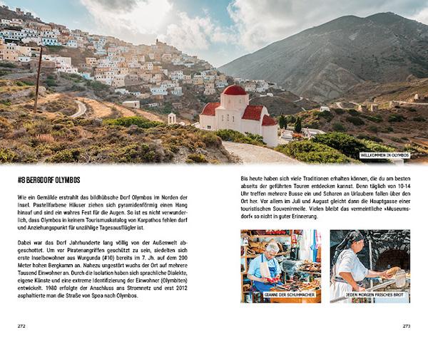 Dodakanes Inselhopping Griechenland Reisefuehrer Karpathos Olymbos