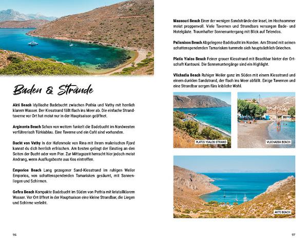 Griechenland Inselhopping Reisefuehrer Dodekanes Insel Kalymnos Straende