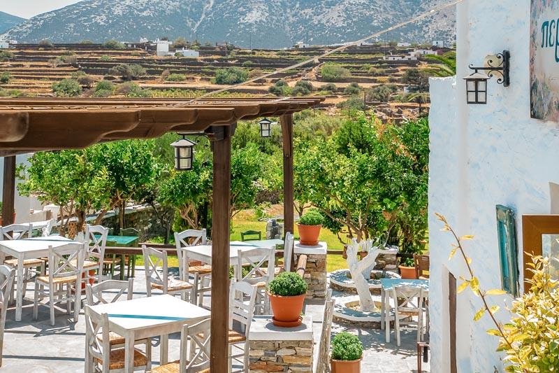 restaurant perivoli sifnos