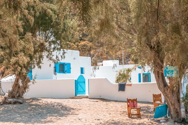 fourni kampi beach ferienhaus
