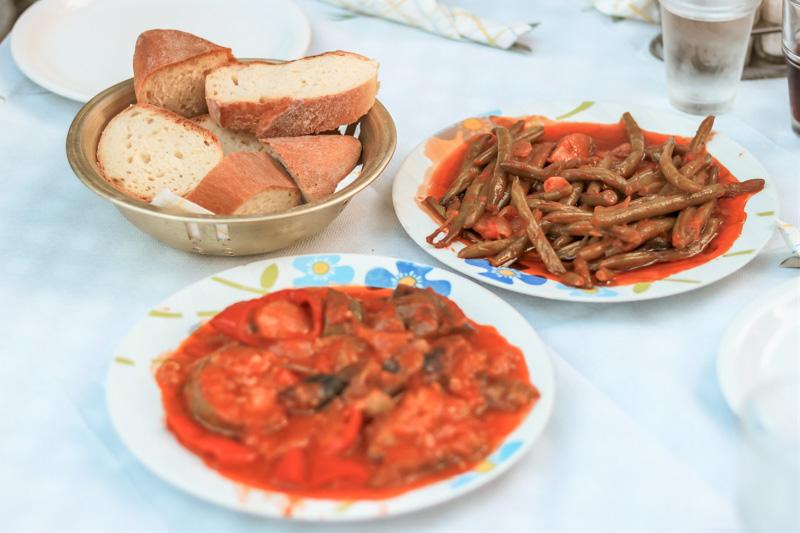 griechische vegane gerichte fourni