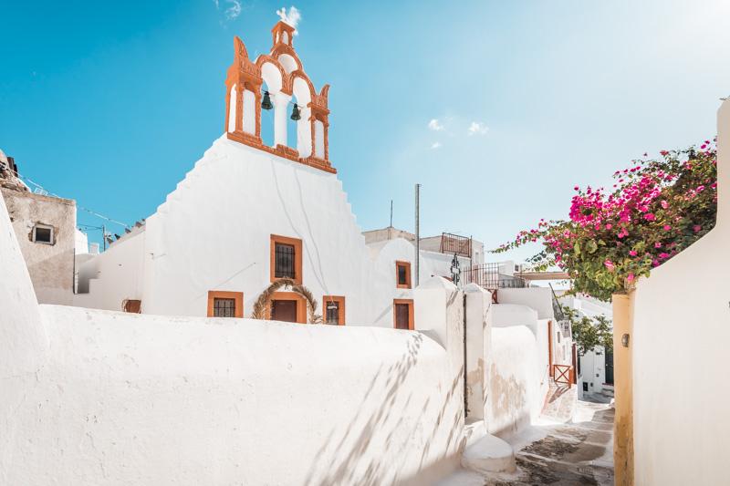Santorini Sightseeing Highlights Emporio Kirche